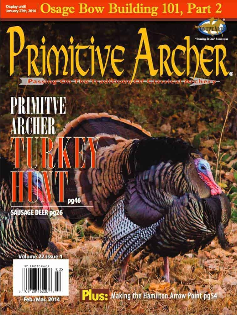Image of a Cover of Primitive Archer Magazine
