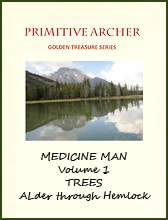 Golden Treasure Series Medicine Man Volume 1, Trees Alder-Hemlock, cover