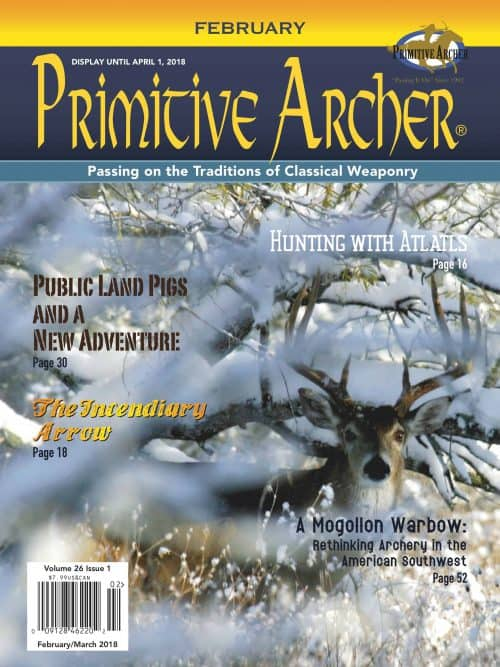 Cover for Primitive Archer Magazine