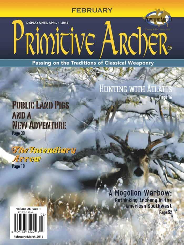 Cover for Primitive Archer Magazine