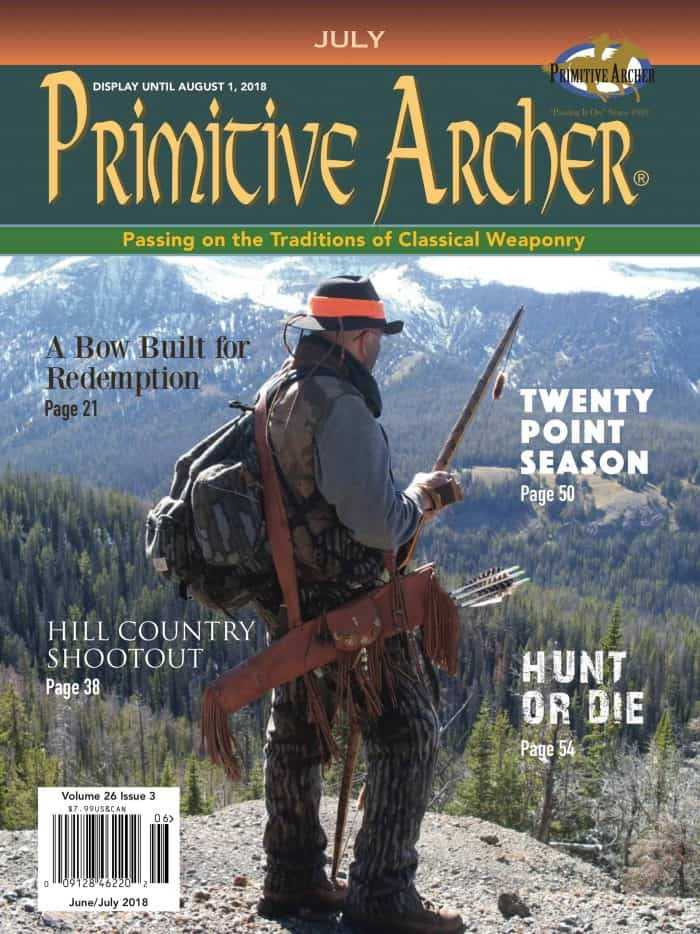 The Cover of Primitive Archer magazine