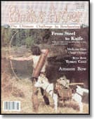 cover of Primitive Archer Magazine Vol. 2 Iss. 1
