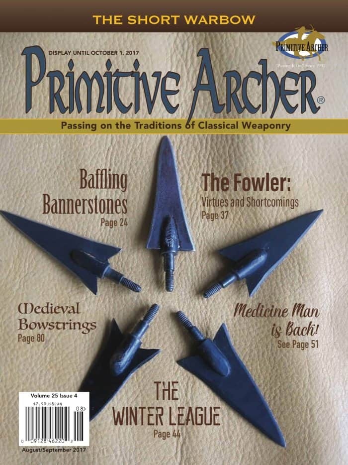 Cover of Primitive Archer Magazine