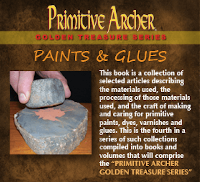 the cover of Paints and Glues