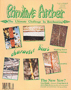 Cover of Primitive Archer Magazine Volume 1 Issue 4