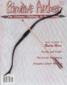 cover of Primitive Archer Magazine Volume 1 Issue 2