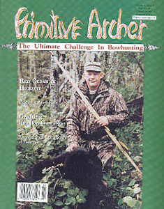 cover of Primitive Archer magazine Vol 2 issue 2