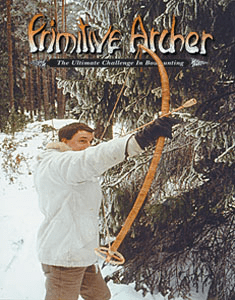 Cover of Primitive Archer Magazine Vol 4 Issue 4