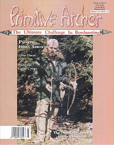 cover of Primitive Archer Magazine Vol 2 Issue 3