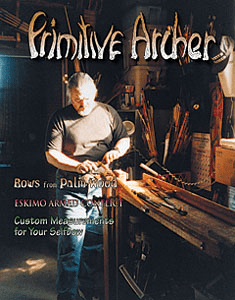 cover of Primitive Archer Magazine Vol. 7 Issue 2