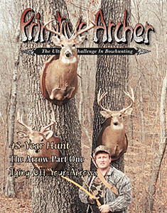Cover of Primitive Archer Magazine Vol. 7 Issue 3