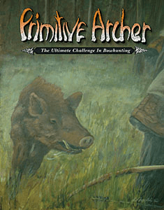 cover of Primitive Archer Magazine Vol 9 Issue 1