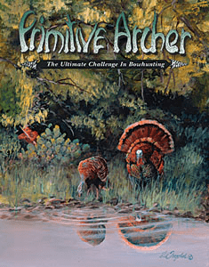cover of Primitive Archer Magazine Vol 9 Issue 2