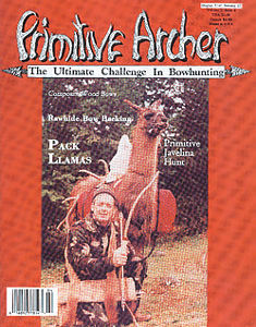 cover of Primitive Archer Magazine Vol. 2 Issue 4