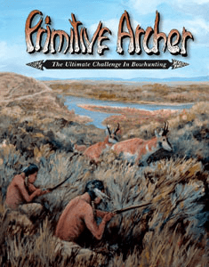 Cover of Primitive Archer Magazine Vol 9 Issue 4