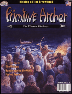 Cover of Primitive Archer Magazine Vol 11 Issue 4