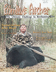 cover of Primitive Archer Magazine Vol. 3 Issue 1