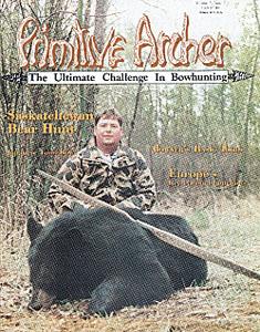 cover of Primitive Archer Magazine Vol. 3 Issue 1
