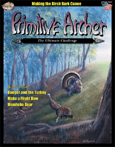 Cover of Primitive Archer Magazine Volume 12 Issue 1