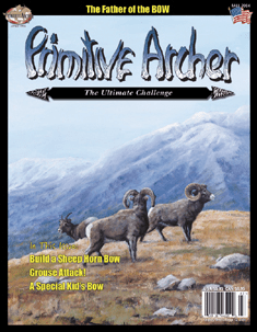 Cover of Primitive Archer Magazine Volume 12 Issue 3