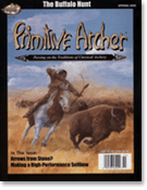 Cover of Primitive Archer Magazine Volume 13 Issue 1