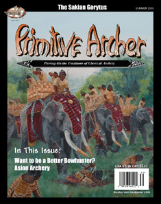Cover of Primitive Archer Magazine Volume 13 Issue 2