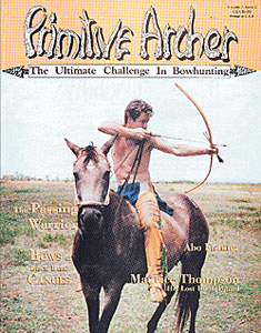 Cover of Primitive Archer Magazine Vol. 3 Issue 2