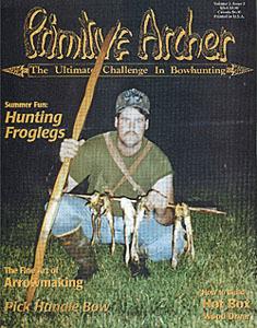 Cover of Primitive Archer Magazine Vol. 3 Issue 3