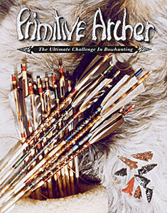 Cover of Primitive Archer Magazine Vol 4 Issue 3
