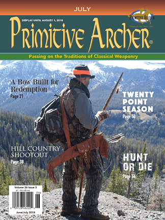 Cover of Primitive Archer Magazine Volume 26 Issue 3