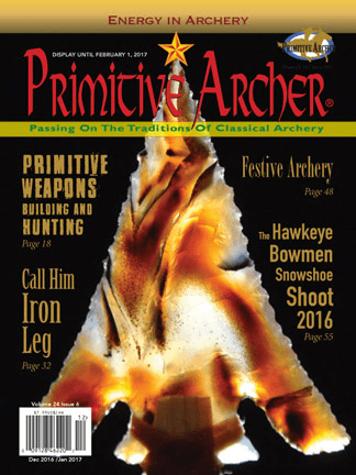 Cover of Primitive Archer Magazine Volume 24 Issue 6