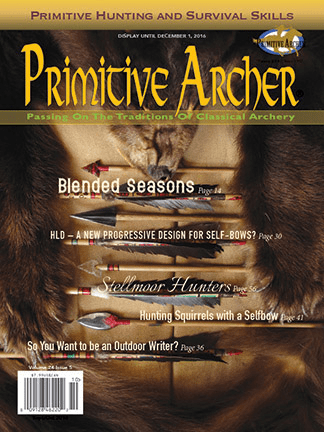 Cover of Primitive Archer Magazine Volume 24 Issue 5
