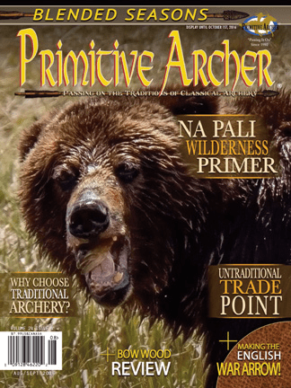 Cover of Primitive Archer Magazine Volume 24 Issue 4