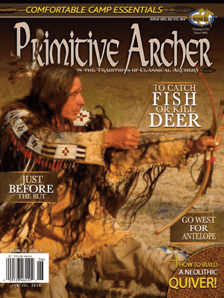 Cover of Primitive Archer Magazine Volume 24 Issue 3