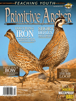 Cover of Primitive Archer Magazine Volume 24 Issue 2