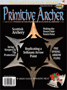 Cover of Primitive Archer Magazine Volume 23 Issue 6
