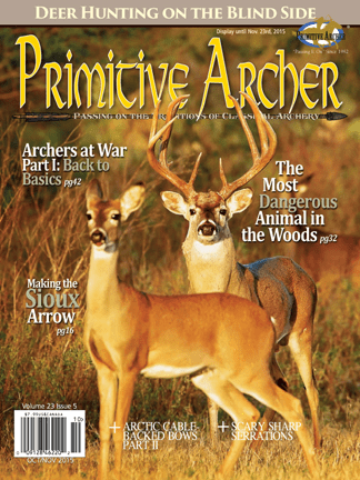 Cover of Primitive Archer Magazine Volume 23 Issue 5
