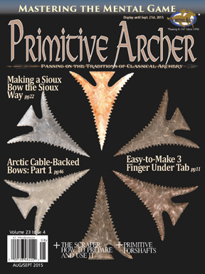 Cover of Primitive Archer Magazine Volume 23 Issue 4