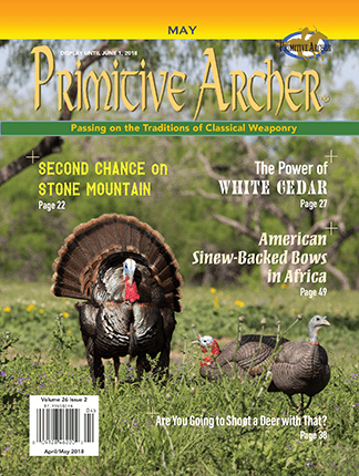 Cover of Primitive Archer Magazine Volume 26 Issue 2