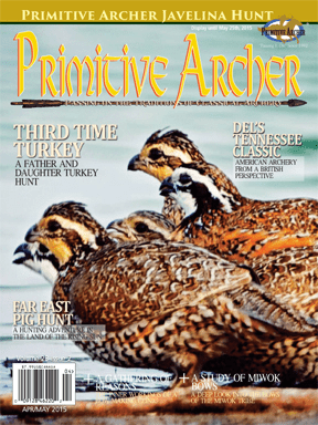 Cover of Primitive Archer Magazine Volume 23 Issue 2
