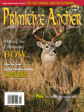 Cover of Primitive Archer Magazine Volume 22 Issue 5