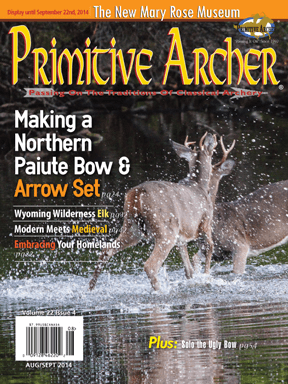 Cover of Primitive Archer Magazine Volume 22 Issue 4
