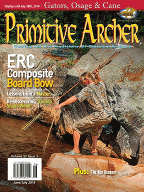 Cover of Primitive Archer Magazine Volume 22 Issue 3