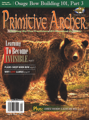 Cover of Primitive Archer Magazine Volume 22 Issue 2