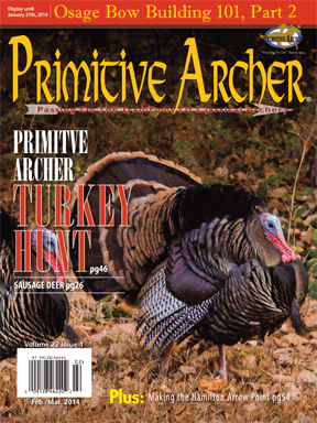 Cover of Primitive Archer Magazine Volume 22 Issue 1