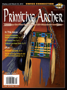 Cover of Primitive Archer Magazine Volume 21 Issue 1