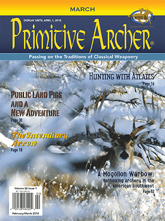 Cover of Primitive Archer Magazine Volume 26 Issue 1