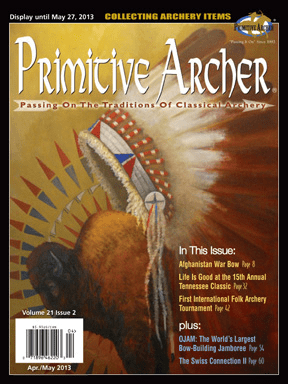 Cover of Primitive Archer Magazine Volume 21 Issue 2