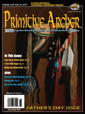 Cover of Primitive Archer Magazine Volume 21 Issue 3