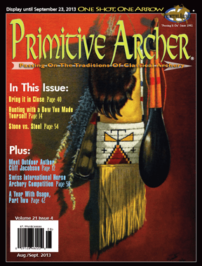 Cover of Primitive Archer Magazine Volume 21 Issue 4